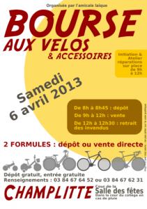 Bourse vélos 2013
